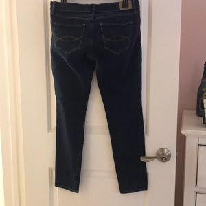 Abercrombie & Fitch Jeans - ABERCROMBIE & FITCH DARK BLUE STRAIGHT LEG JEANS